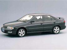 Nissan Sunny 1993, седан, 8 поколение, B14