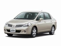 Nissan Tiida Latio рестайлинг 2008, седан, 1 поколение, C11