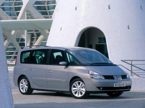 Renault Espace (JK) 09.2002 - 08.2006