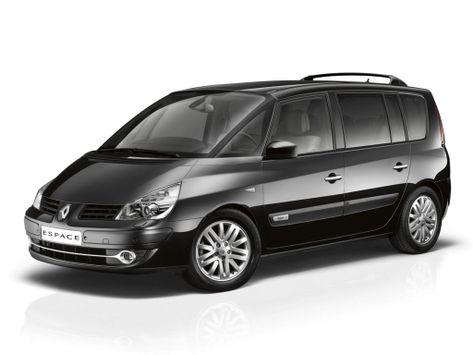 Renault Espace (JK) 09.2006 - 11.2010