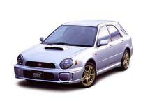 Subaru Impreza WRX STI 2000, универсал, 2 поколение, GG