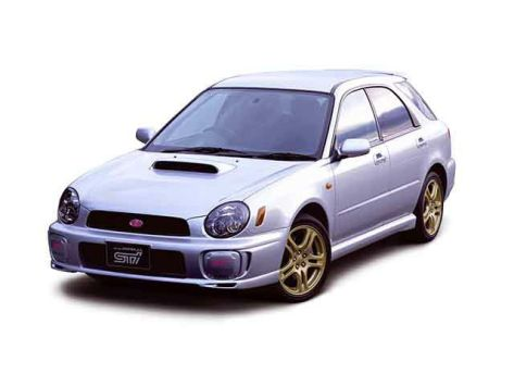 Subaru Impreza WRX STI (GG/G11) 10.2000 - 10.2002