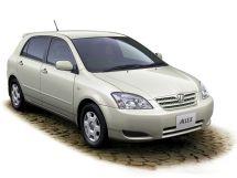 Toyota Allex рестайлинг 2002, хэтчбек 5 дв., 1 поколение, E120