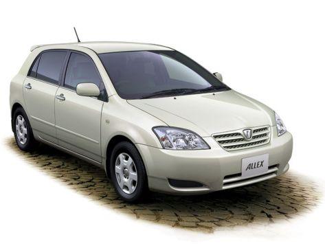 Toyota Allex (E120) 09.2002 - 03.2004