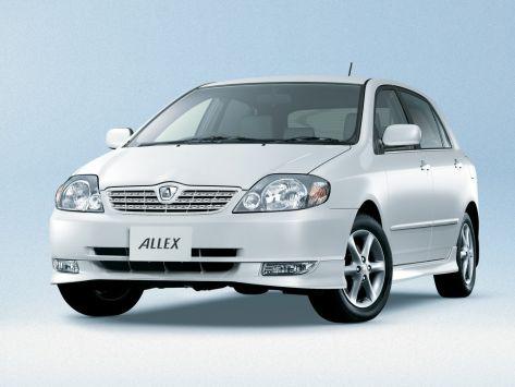 Toyota Allex (E120) 01.2001 - 08.2002