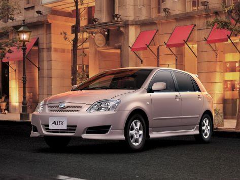 Toyota Allex (E120) 04.2004 - 10.2006