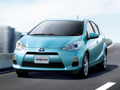 Toyota Aqua (P10) 11.2011 - 11.2014
