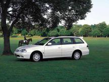 Toyota Caldina рестайлинг, 2 поколение, 01.2000 - 08.2002, Универсал