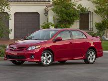 Toyota Corolla рестайлинг, 10 поколение, 10.2010 - 09.2013, Седан