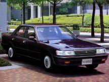 Toyota Mark II рестайлинг 1990, седан, 6 поколение, X80