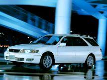 Toyota Mark II Wagon Qualis рестайлинг, 1 поколение, 08.1999 - 01.2002, Универсал