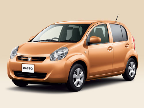 Toyota Passo 2010 - 2014