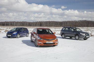 Антикризисное пособие покупателю. Тест-драйв автомобилей до 900 000 рублей: Hyundai Solaris vs Ford Fiesta vs Chery Tiggo FL
