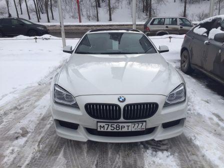 BMW 6-Series 2013 - отзыв владельца