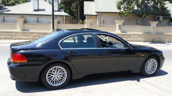 BMW 7-Series 2003 - отзыв владельца