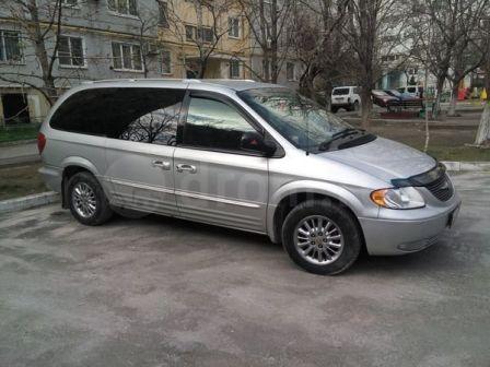 Chrysler Town&Country 2002 - отзыв владельца