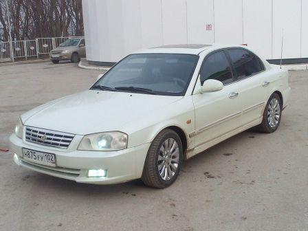 Kia Magentis 2001 - отзыв владельца