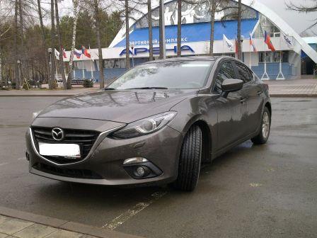 Mazda Mazda3 2015 - отзыв владельца