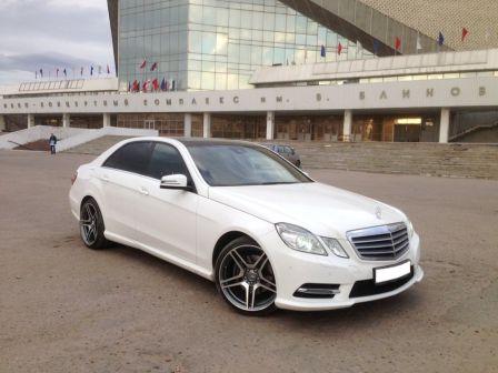 Mercedes-Benz E-Class 2013 - отзыв владельца