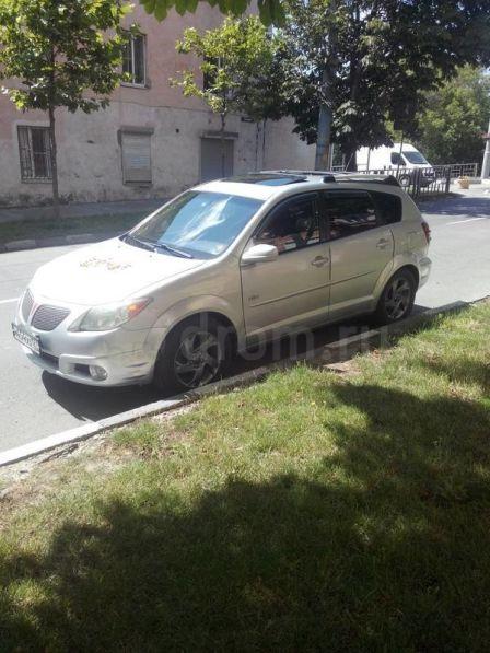 Pontiac Vibe 2005 - отзыв владельца