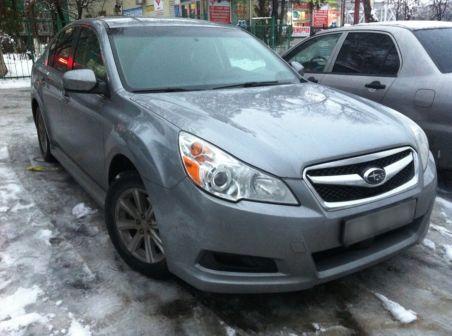 Subaru Legacy 2010 - отзыв владельца