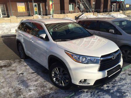 Toyota Highlander 2015 - отзыв владельца