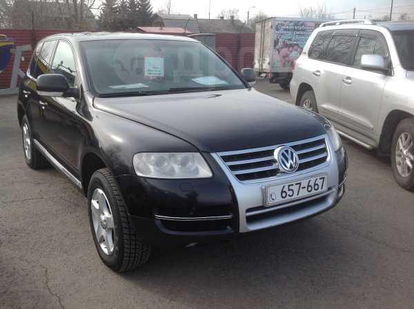 Volkswagen Touareg, 2004 год, 495 000 руб.