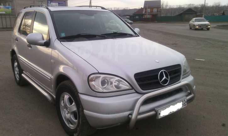 Mercedes-Benz M-Class, 2001 год, 535 000 руб.