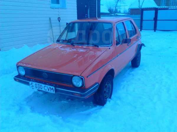 Volkswagen Golf, 1981 год, 50 000 руб.