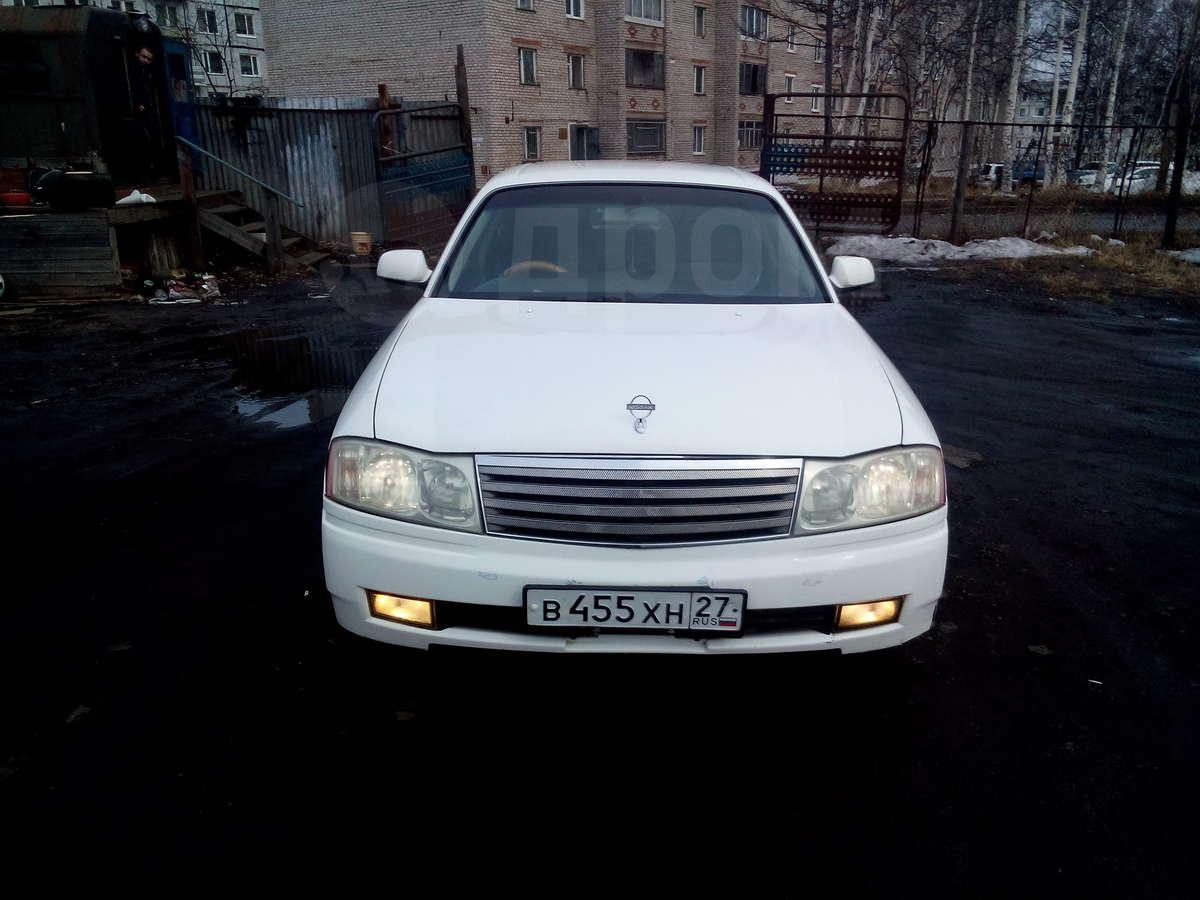 фото nissan gloria 1999 -2004 белый