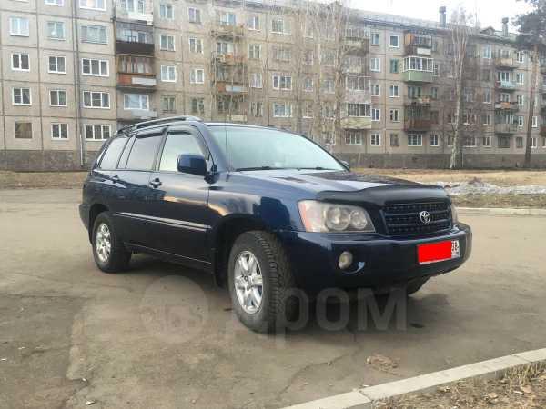 Toyota Highlander, 2001 год, 670 000 руб.