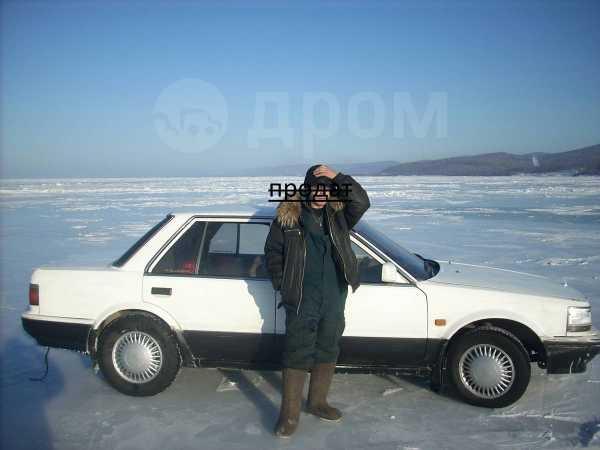 Nissan Bluebird, 1987 год, 40 000 руб.