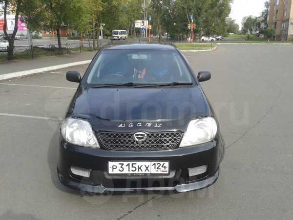 Toyota Allex, 2002 год, 290 000 руб.