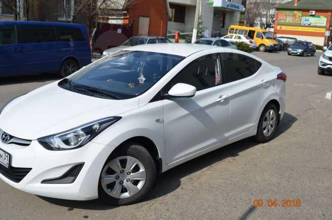 Hyundai Elantra, 2014 год, 740 000 руб.