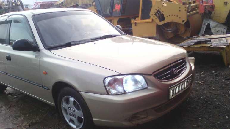 Hyundai Accent, 2007 год, 155 000 руб.