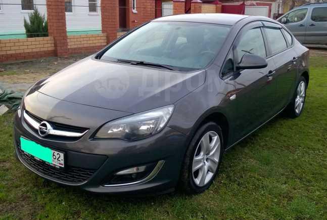 Opel Astra, 2012 год, 605 000 руб.
