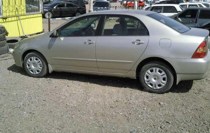 Toyota Corolla, 2002 год, 351 000 руб.