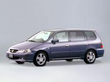 Honda Odyssey рестайлинг 2001, минивэн, 2 поколение