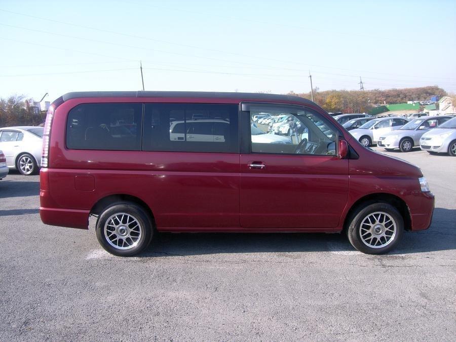 Honda Stepwgn рестайлинг 2003, 2004, 2005, минивэн, 2 поколение технические характеристики и ...