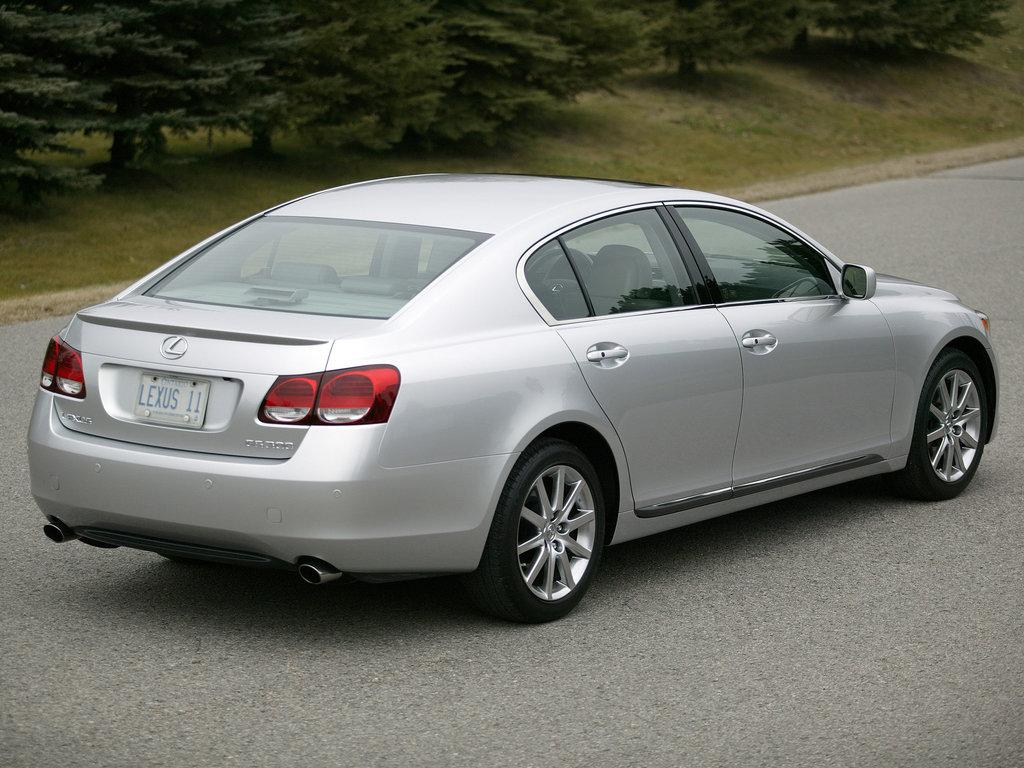 lexus gs300 2005, 2006, седан, 3 поколение, s190 технические