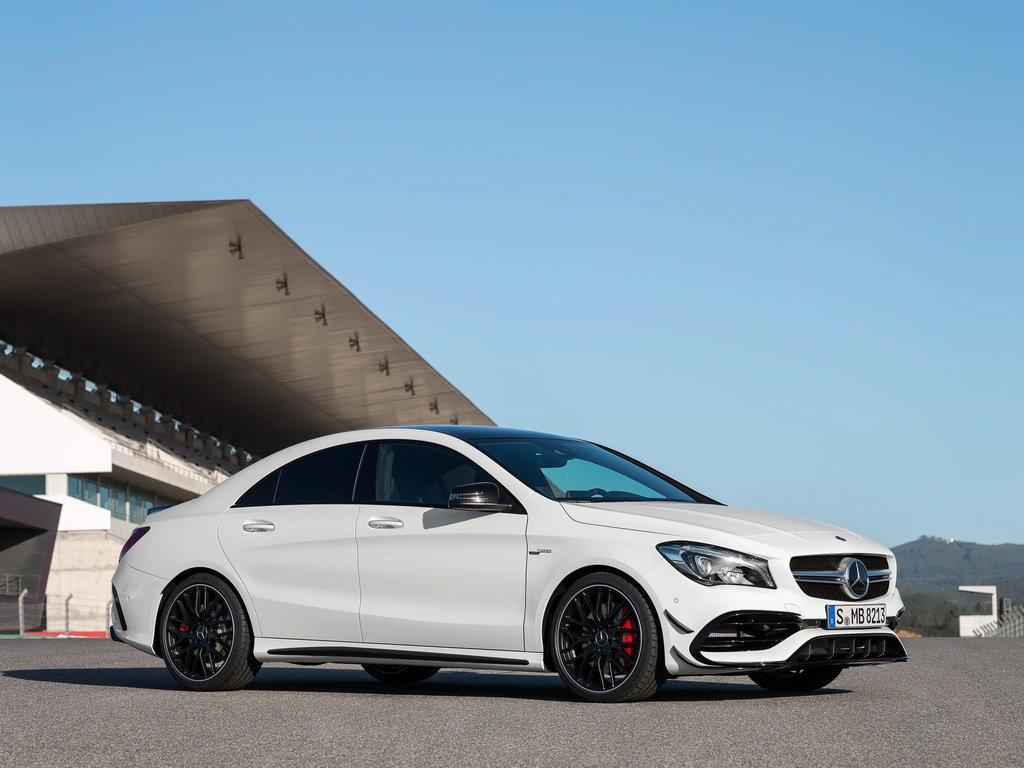 Четырехдверное купе Mercedes-Benz CLA может дебютировать в Детройте 20
