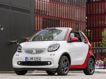 Smart Fortwo 2015, открытый кузов, 3 поколение