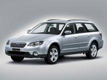 Subaru Outback рестайлинг 2006, универсал, 3 поколение, BP