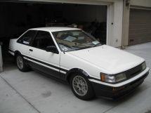 Toyota Corolla Levin рестайлинг 1985, купе, 4 поколение, E80