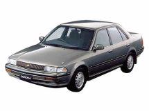 Toyota Corona рестайлинг 1989, седан, 9 поколение, T170