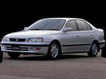 Toyota Corona рестайлинг 1994, седан, 10 поколение, T190