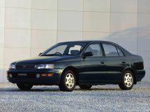 Toyota Corona 1992, седан, 10 поколение, T190