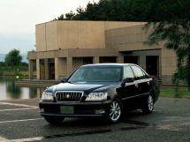 Toyota Crown Majesta рестайлинг 2001, седан, 3 поколение, S170