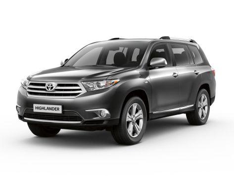 Toyota Highlander (XU40) 08.2010 - 12.2013