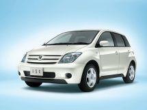 Toyota ist 1 поколение, 05.2002 - 04.2005, Хэтчбек 5 дв.
